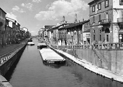 Once upon a time: a view of the Navigli, the navigable canals of Milan