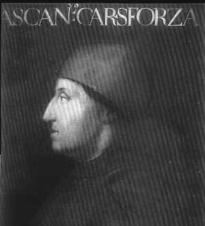 Ascanio Maria Sforza member of the Sforza family, rulers of Milan in the 15th century