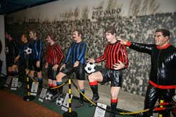 Inter FC and Milan AC museum in Milan, San Siro stadium