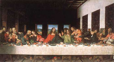 leonardo's masterpiece: The last supper