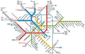 Useful maps of Milan