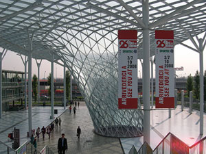 The New Fiera, in Milan, is the new exhibition center