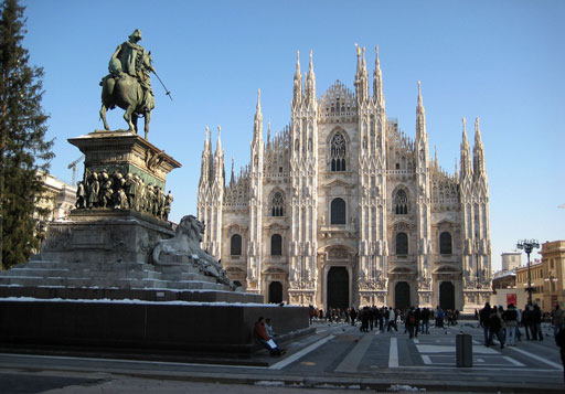 The Cathedral of Milan, the symbol of the city