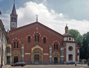 The Basilica of Sant'Eustorgio in Milan
