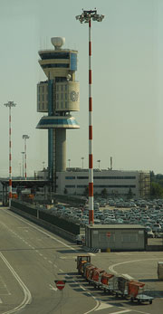 Malpensa airport in Milan